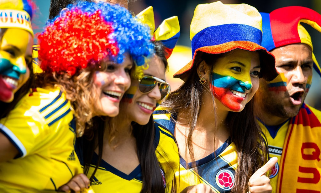 (SP)BRAZIL-BELO HORIZONTE-WORLD CUP 2014-GROUP C-COLOMBIA VS GREECE-FANS